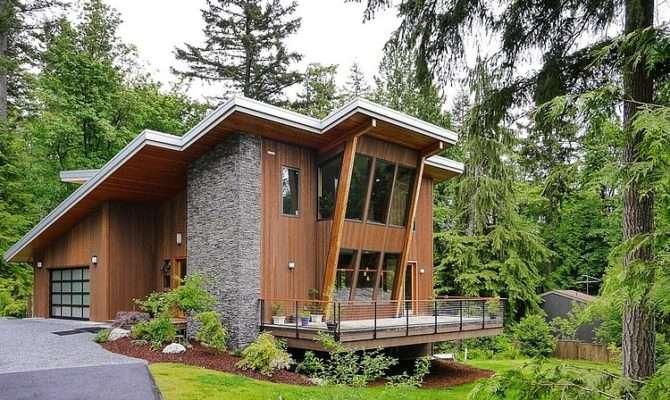 Impressive Modern Cottage Base Squak Mountain
