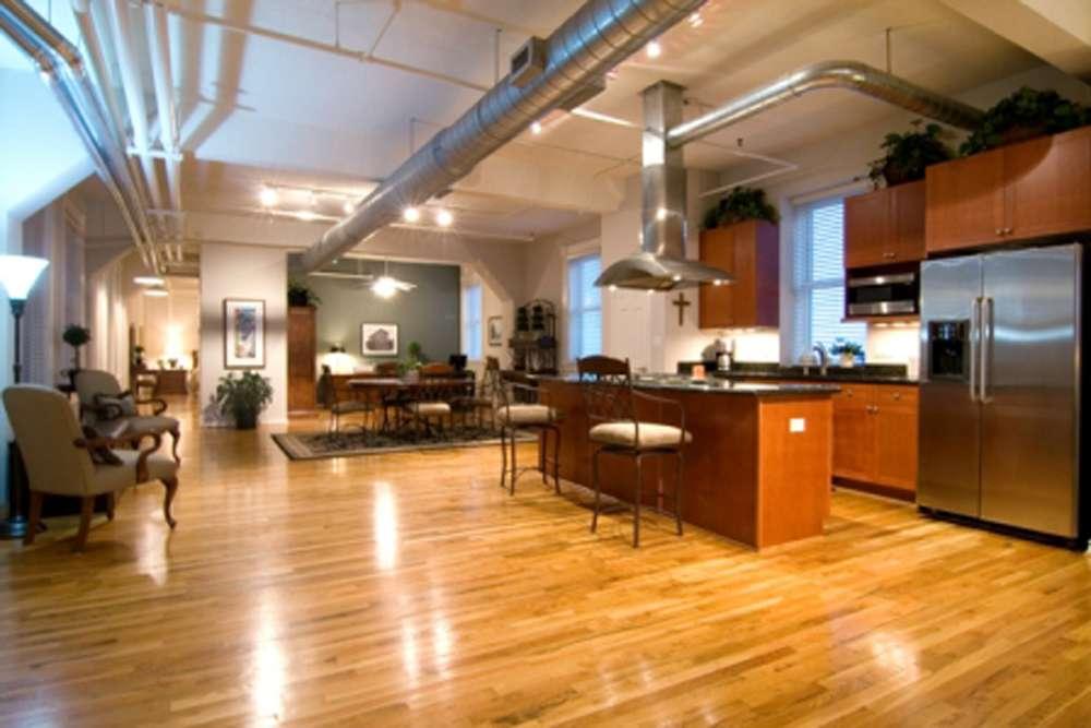 Impressive Open Floor Plan Kitchen Living Room