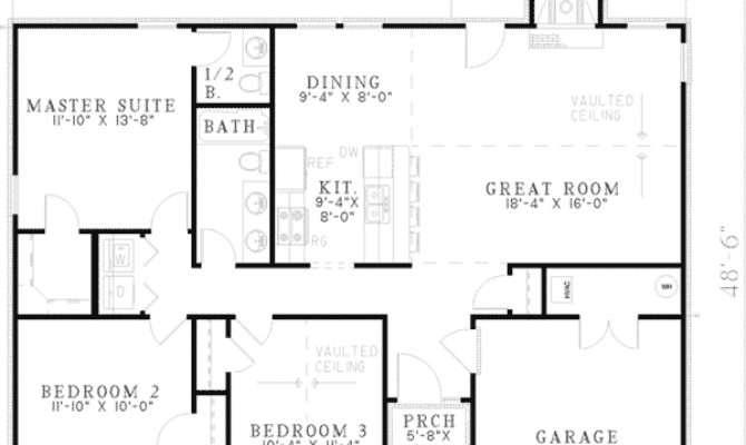Impressive Simple Ranch House Plans Basic Style
