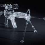 Incredible Glass Gun Bongs Passion Pot
