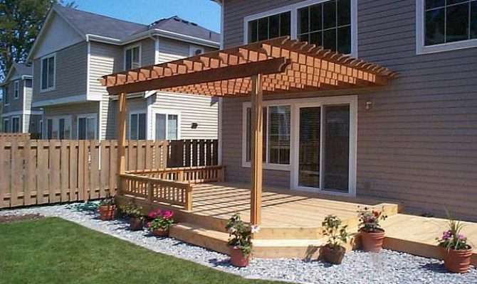 Incredible Pergola Attached House Garden Landscape