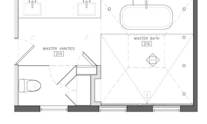 Incredible Small Master Bathroom Floor Plans