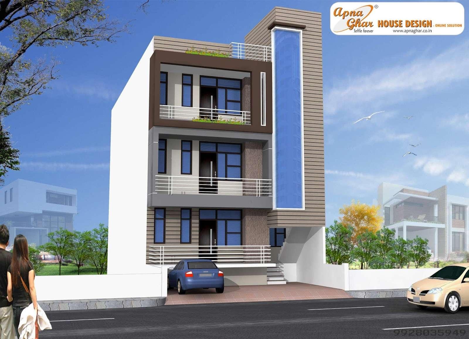 Independent Floor Design Apnaghar House