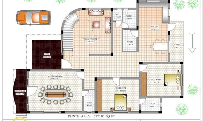 Indian Home Design House Plan Plans