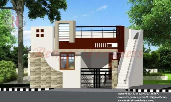 Indian House Design Single Floor Designs Building Plans