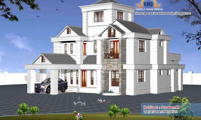 Indian Style Sweet Home Designs Kerala House Design Idea