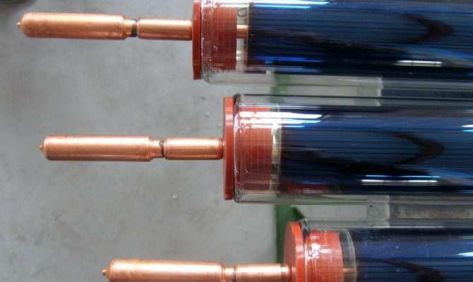 Indirect Close Loop Heat Pipe Solar Water Heating