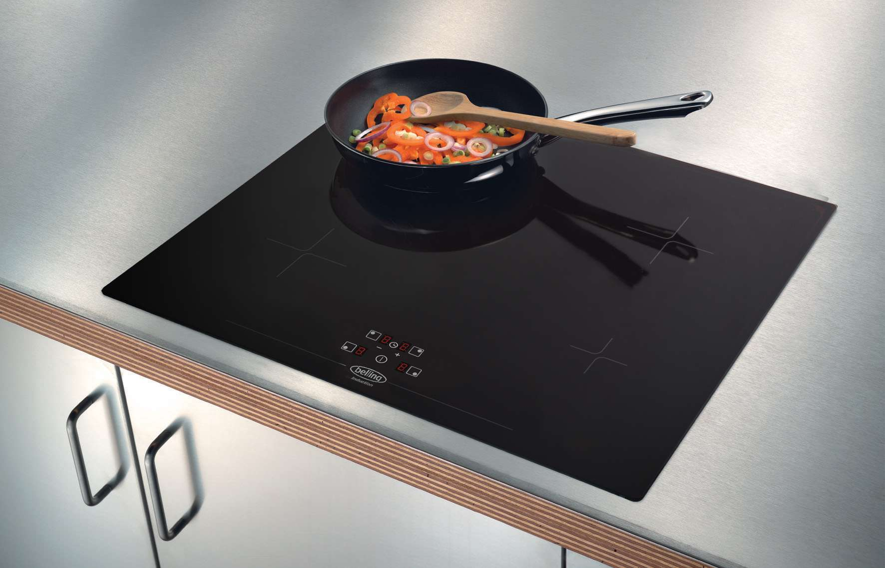 Induction Cooktop Touch Controls