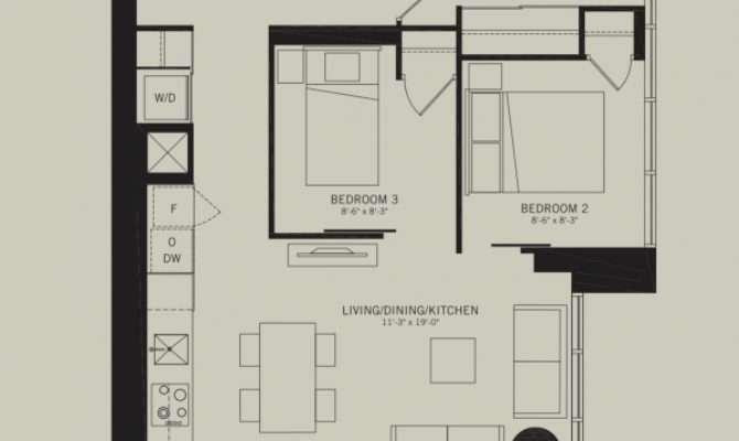 Indx Condos Bedroom Floor Plans