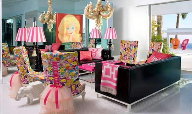 Inexpensive Barbie House Inspirations Delightful Decorations