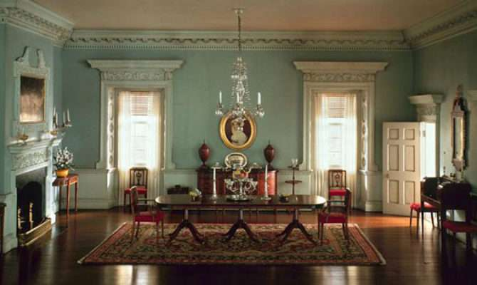Inside Colonial Houses Homes