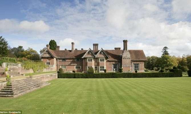 Inside Incredible Edwardian Tudor Style Mansion Has