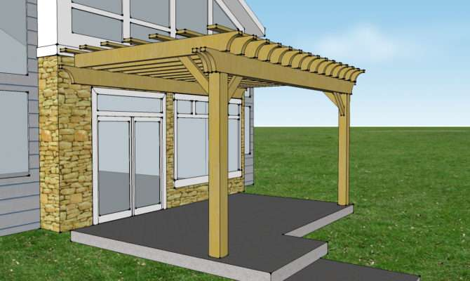 Insider Pergola Attached House Garden