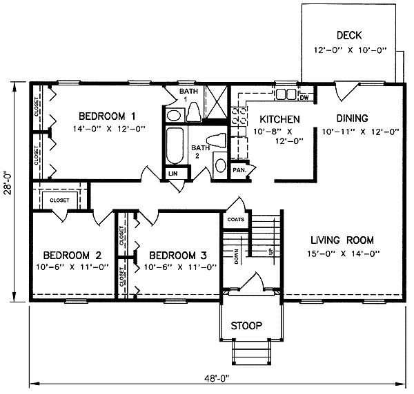 Inspirational Floor Plans Split Level Homes New Home