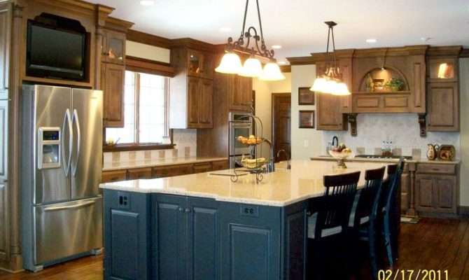 Inspiring Large Kitchen Island Ideas Fabulous