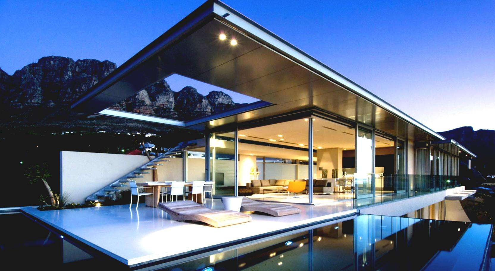 Inspiring Modern Architectural House Design Home