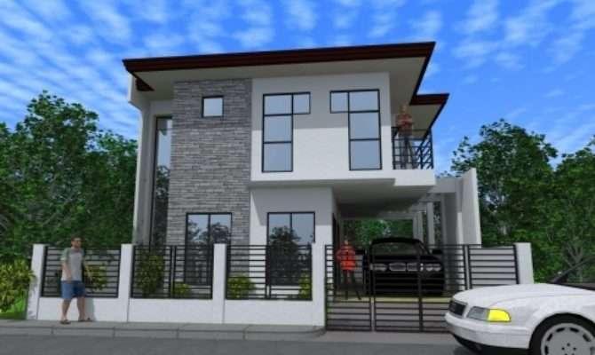 Inspiring Modern Two Storey House Designs