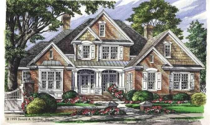 Inspiring New American Home Plans
