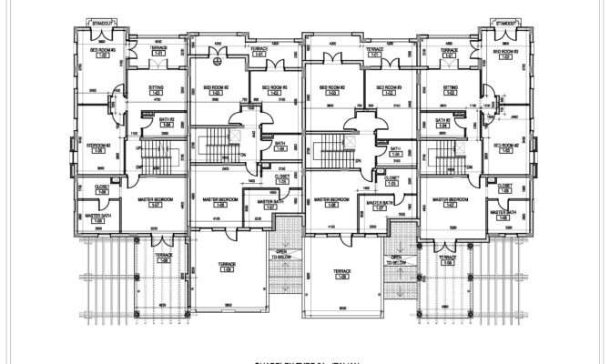 Inspiring Quadplex Designs Building Plans
