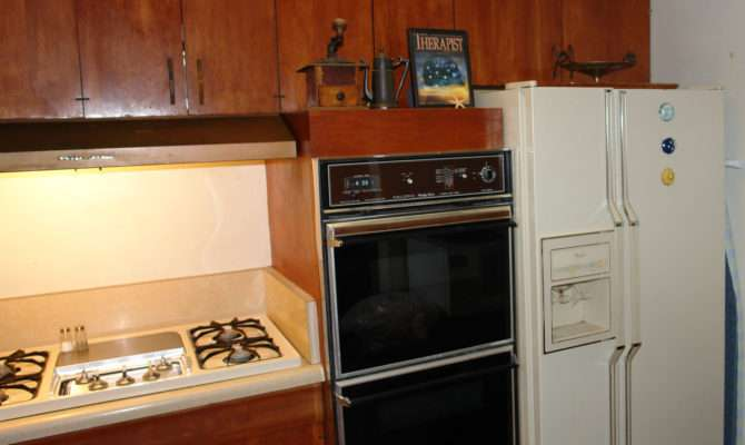 Installed Original Kitchen Mounting Cabinet Optional