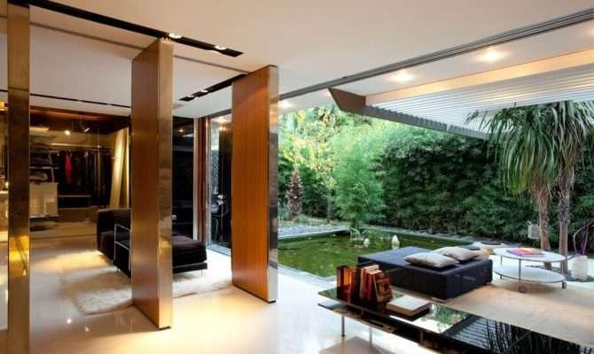 Interior Courtyard House Plans Modern Designs