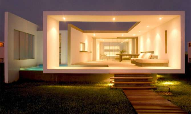 Interior Design Architecture Modern Small Beach House