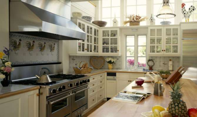 Interior Design Big Kitchen Country