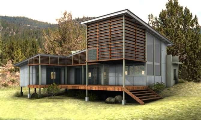 Interior Exterior House Building Green Design