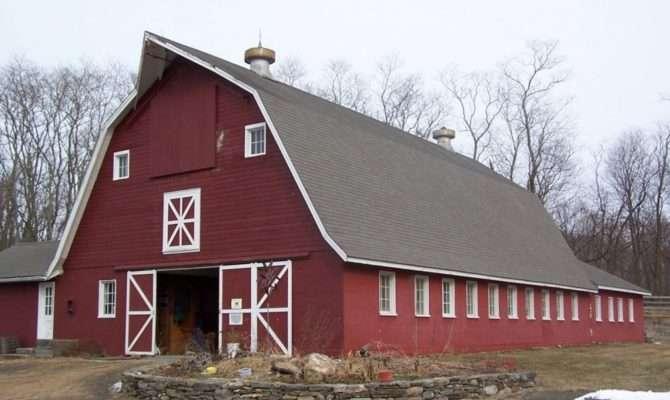 Interior Gambrel Pole Barn Home Ideas