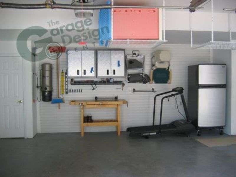 Interior Garage Designs Organization Cabinets
