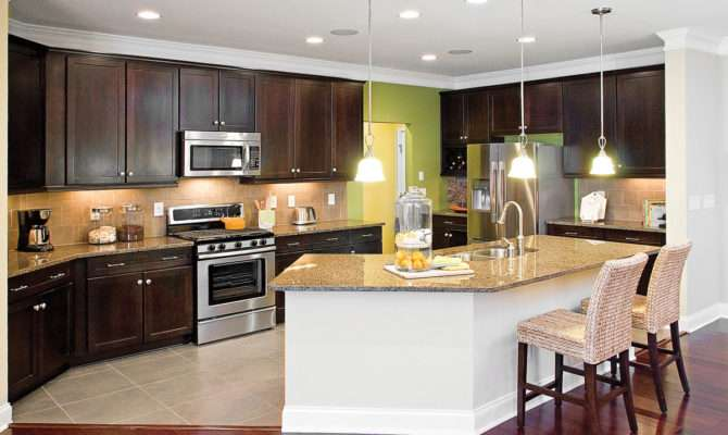 Interior Open Kitchen Concept Our Home Plans