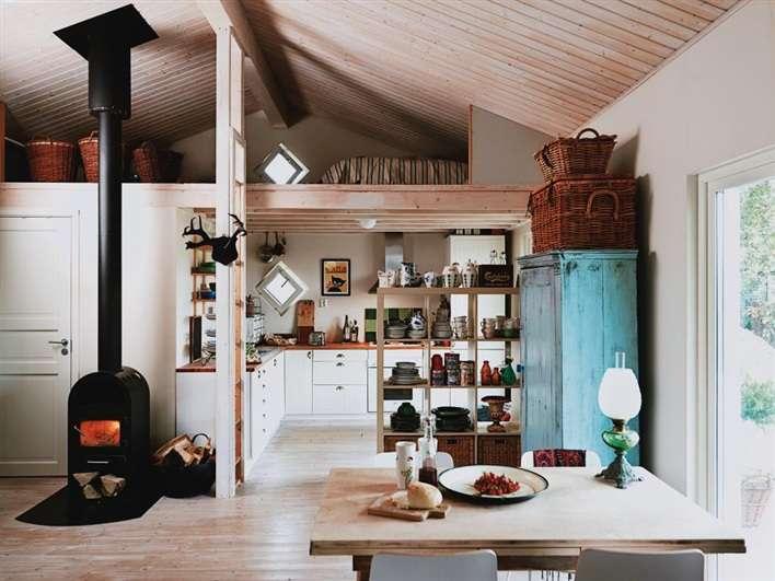 Interiors Swedish Cottage