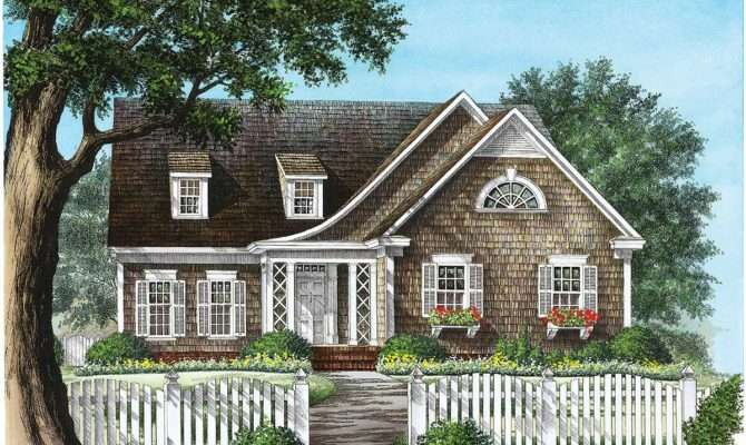 Inviting Shingle Style House Plan