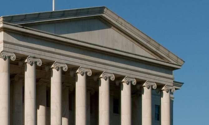 Ionic Columns Architect Capitol United States