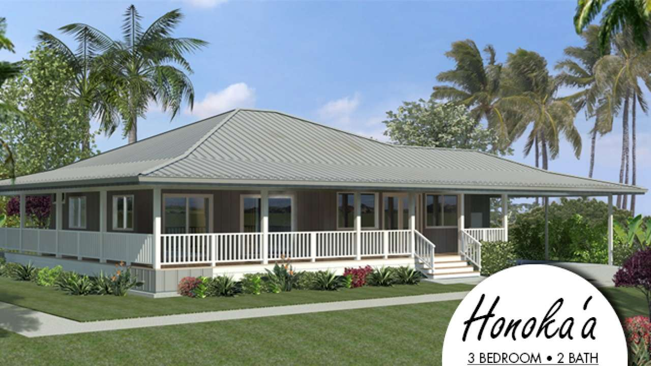 Island Style House Plans Hawaiian Plantation