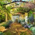 Italian Courtyard Gardenpuzzle Garden Planning Tool