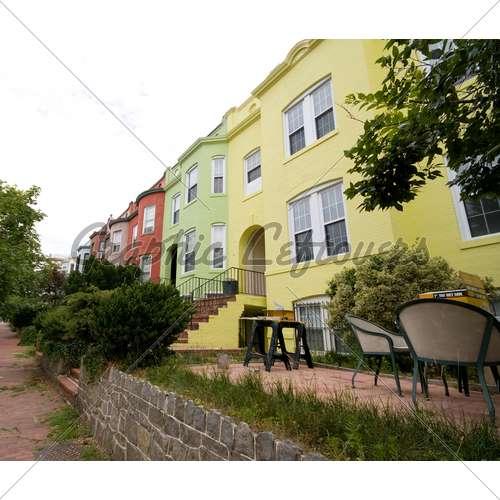 Italianate Row House Homes Washington