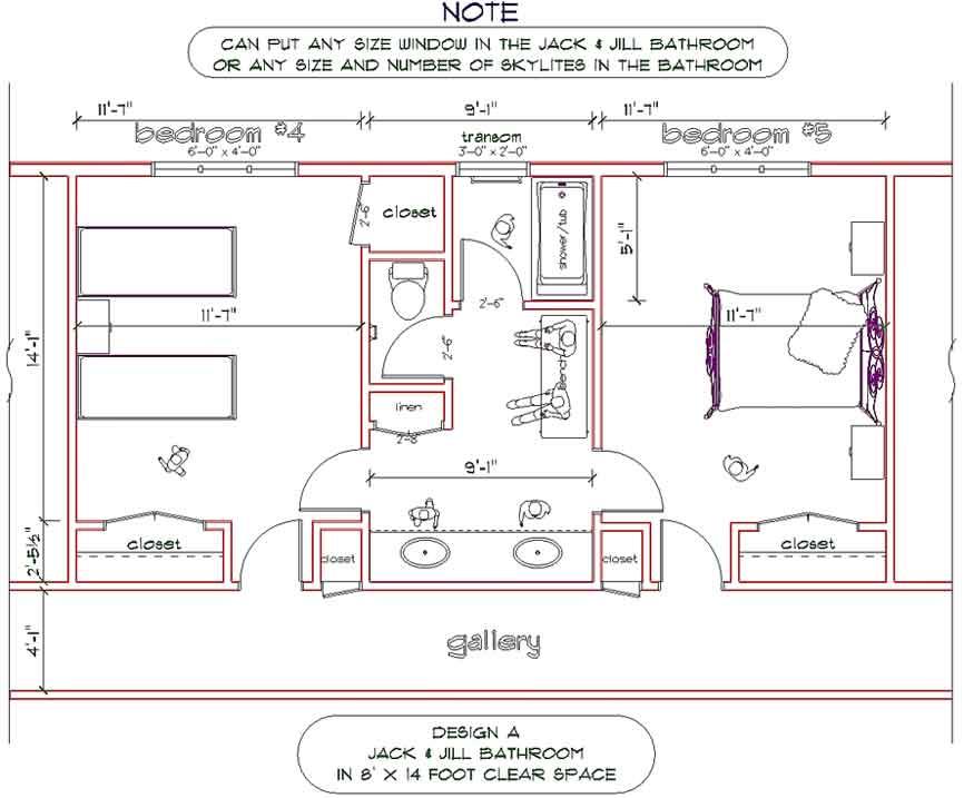 Jack Jill Bathrooms Bathroom Design