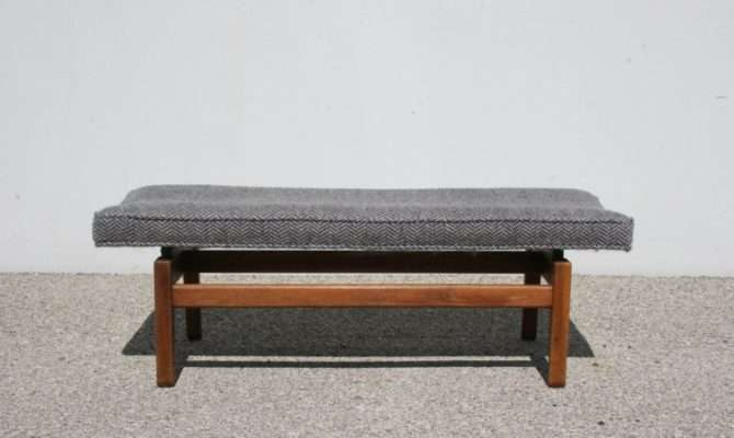 Jens Risom Floating Bench Sale Stdibs