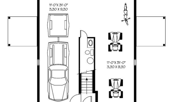 Juliet Two Car Garage Apartment Plan House Plans More