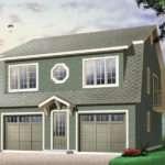 Juliet Two Car Garage Apartment Plan House