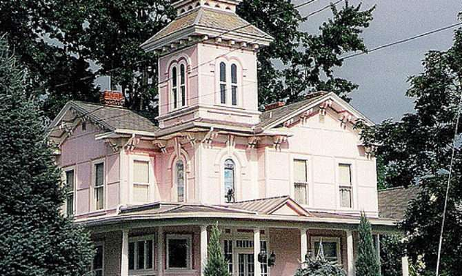 July Wooster Ohio Bever Pink Victorian House Flickr