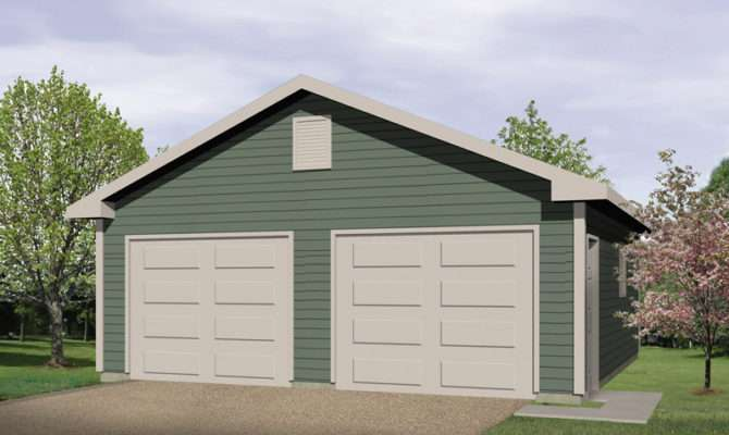 Kashmir Two Car Garage Plan House Plans More