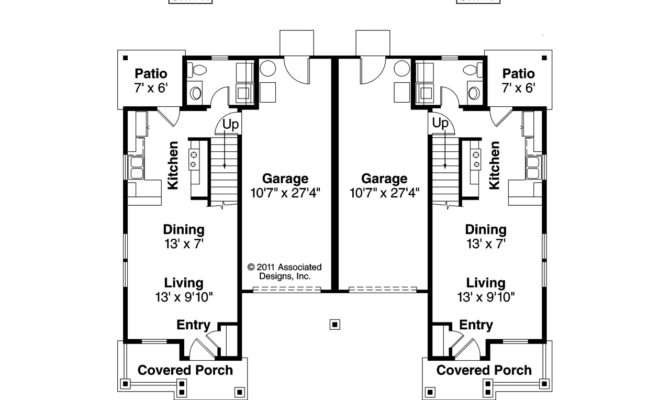 Keep Learning Modern Duplex Home Plans House Plan