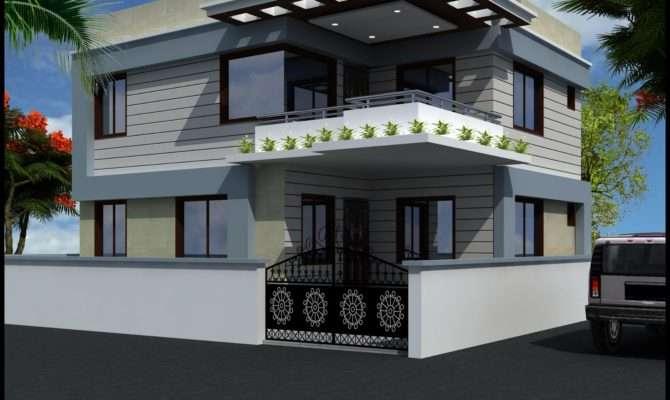Keep Learning Modern Duplex Home Plans House Plan