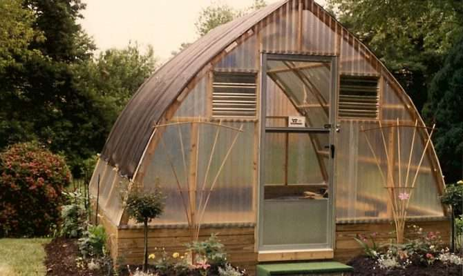 Keep Plants Safe Gothic Arch Greenhouse
