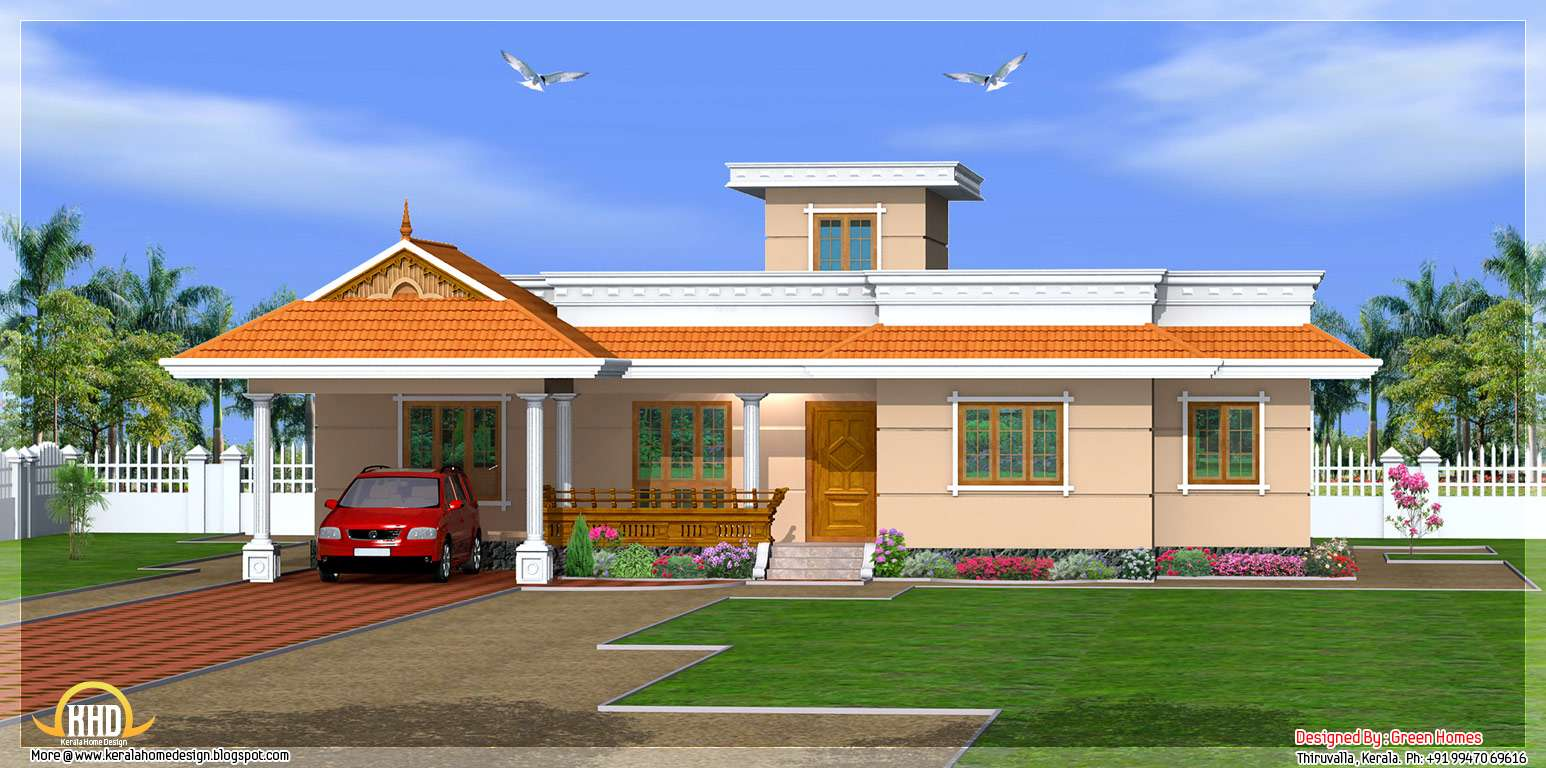 Kerala Home Design Floor Plans Feet Bedroom