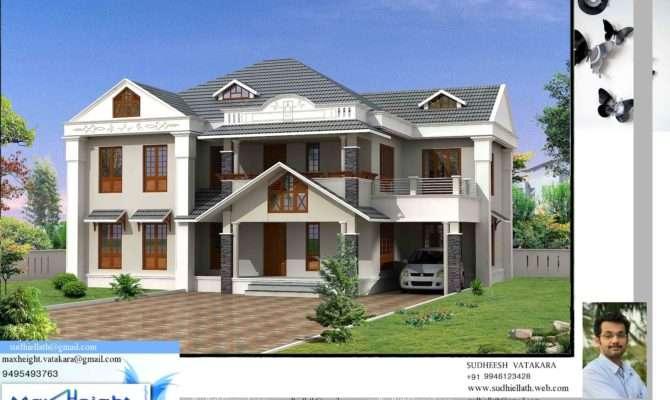 Kerala House Model Latest Style Home Design