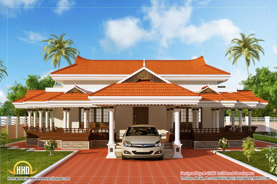 Kerala Model House Design Home