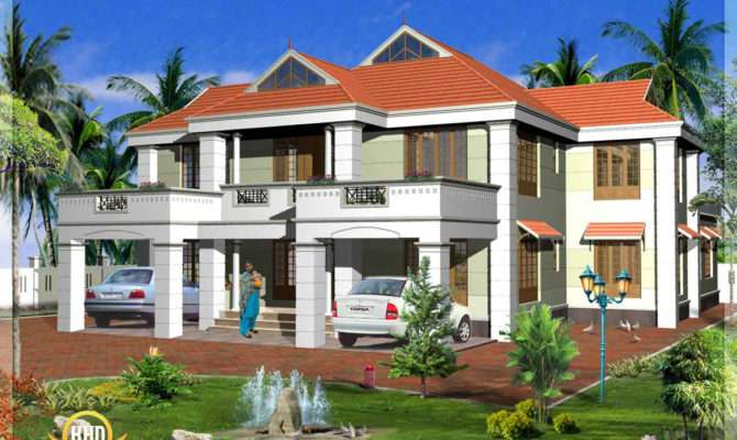 Kerala Model House Elevations Home Design